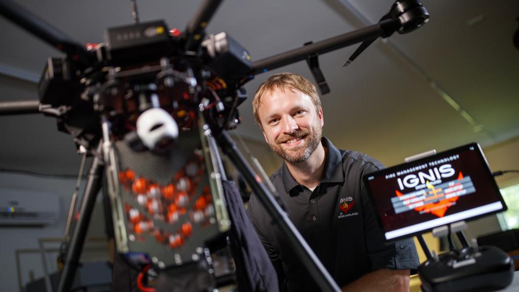 Drone technology expert Detweiler named NAI senior member