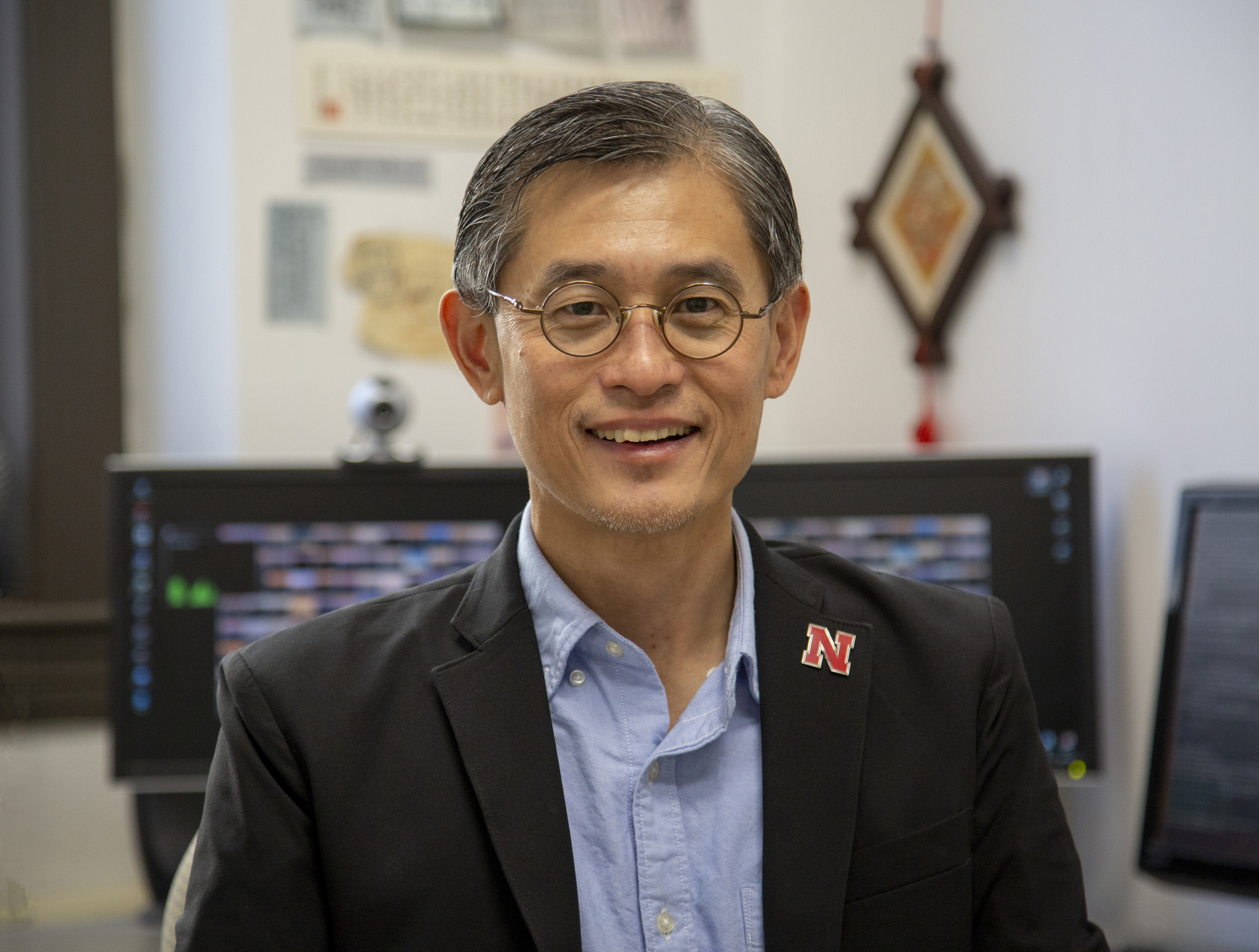 Computer Science and Engineering professor Leen-Kiat Soh. Photo courtesy of Nebraska Today.
