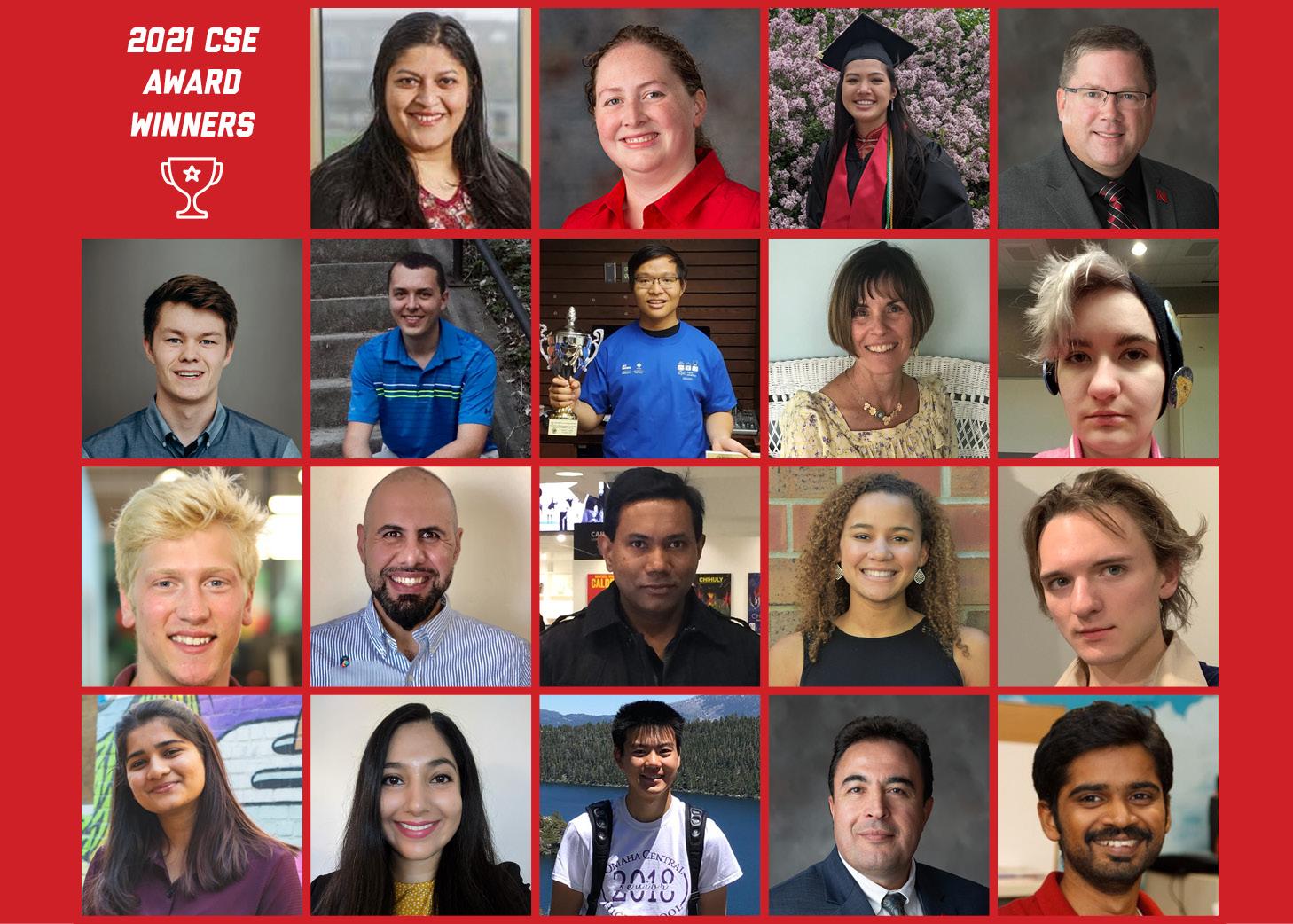 The 2021 CSE Award Winners
