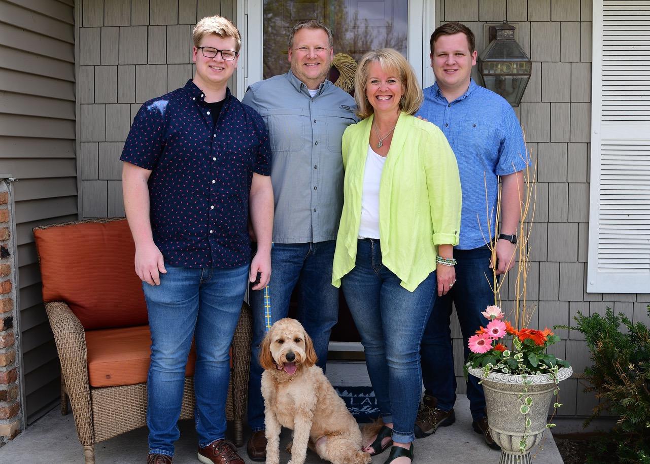 The Erickson family.