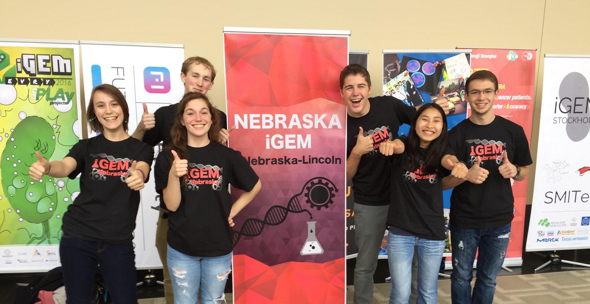 The University of Nebraska–Lincoln iGEM team