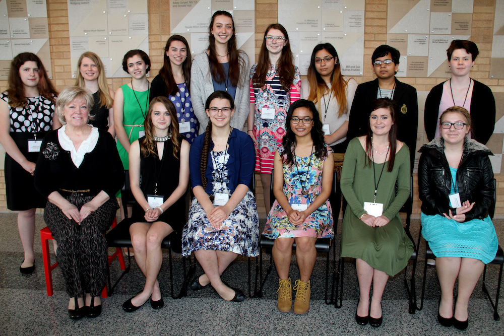 The 2017 NCWIT Aspirations in Computing Awardees