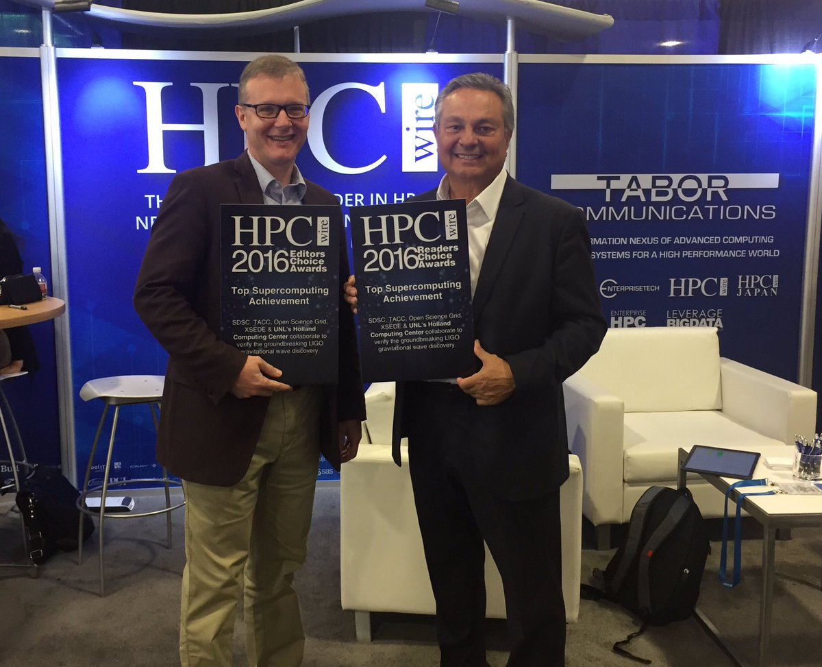 HCC Receives 'Top Supercomputing Achievement' Award