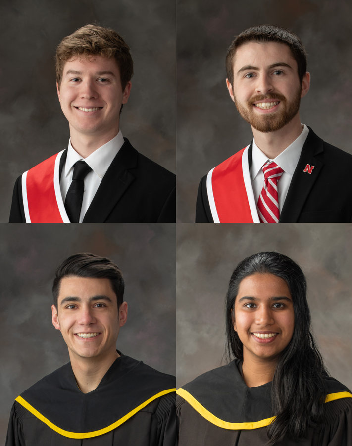 Dana Hoppe, Matthew Meacham, Jacob Shiohira, and Gauri Ramesh.