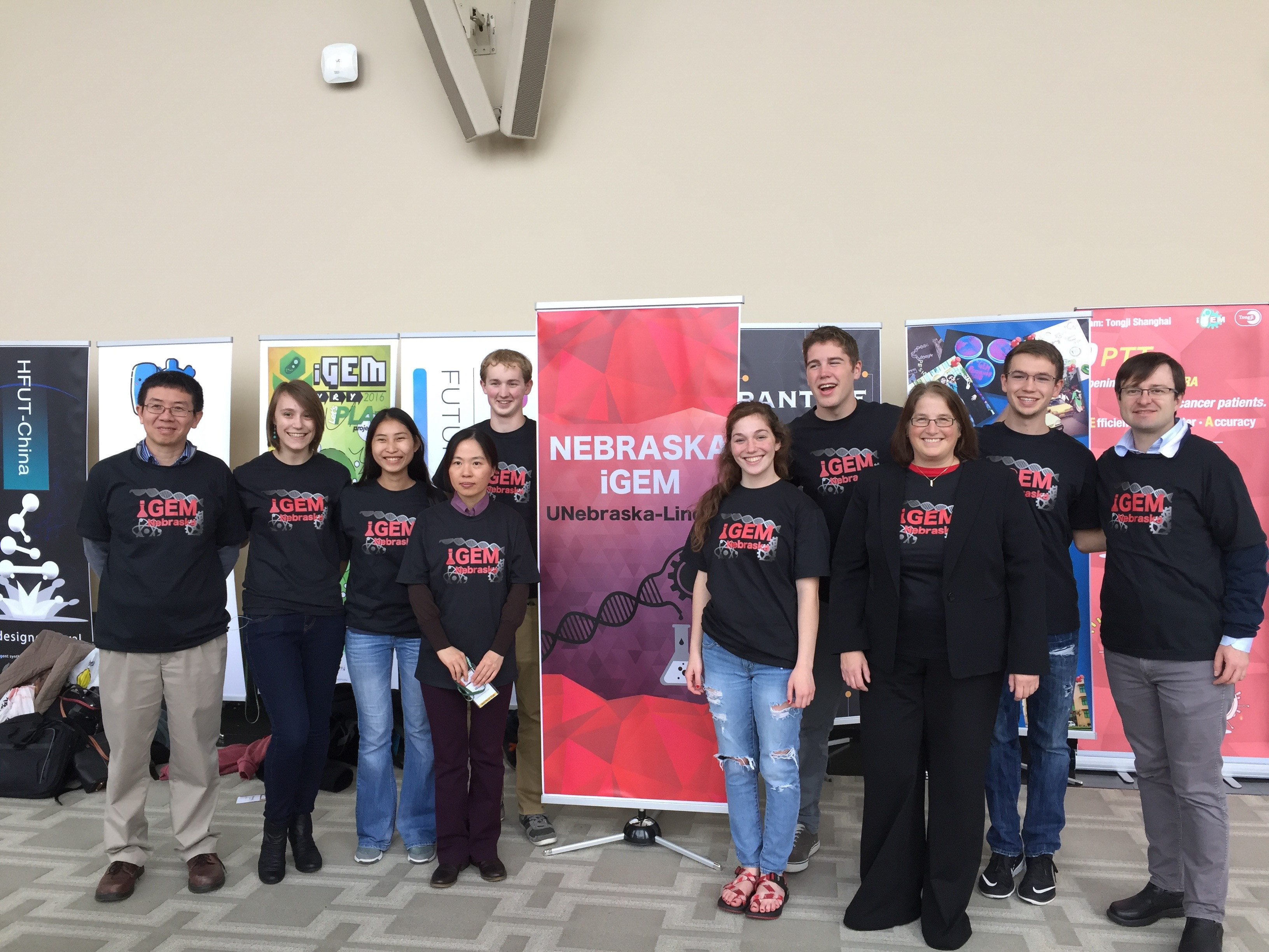 The UNL iGEM team was awarded a silver medal at the International iGEM Competition in Boston.