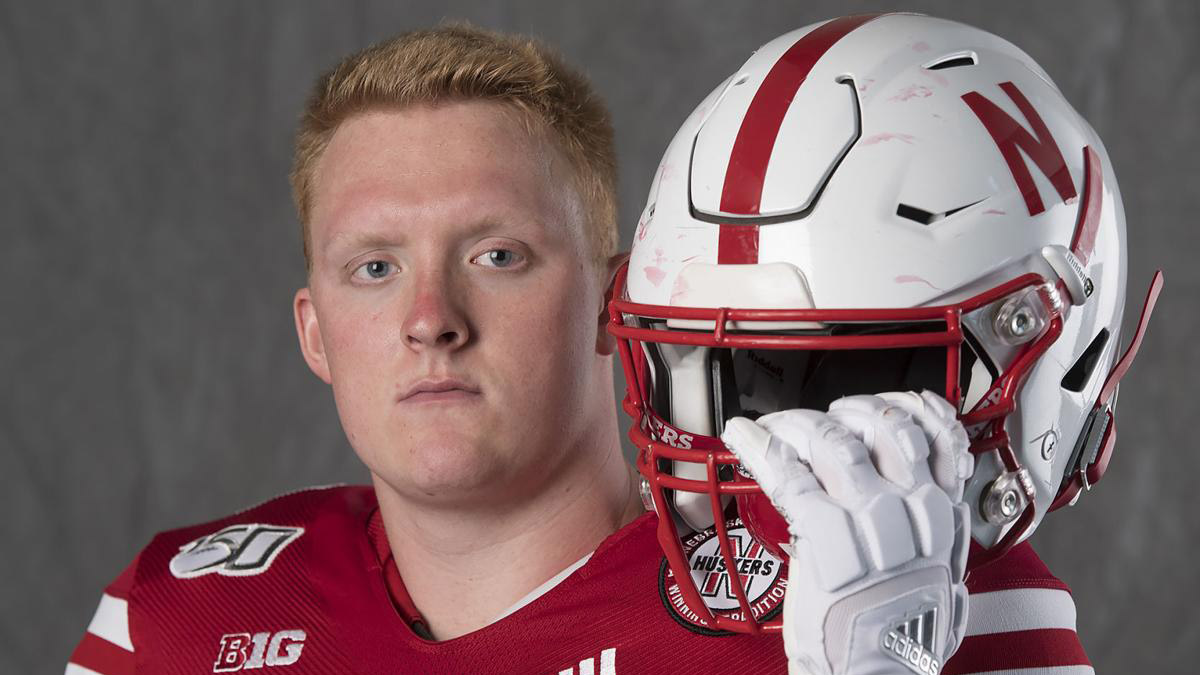 Husker OL Sichterman pushes for starting job while helping build software startup